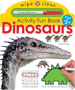 Wipe Clean Early Learning Dinosaurs