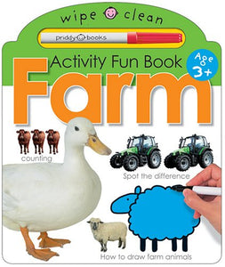 Wipe Clean Activity Book Farm