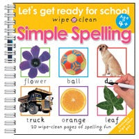 Let's Get Ready For School: Simple Spelling