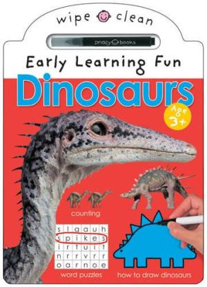 Wipe Clean Activity Fun Book - Dinosaurs