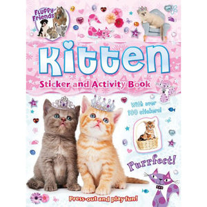 Kitten Sticker And Activity Book