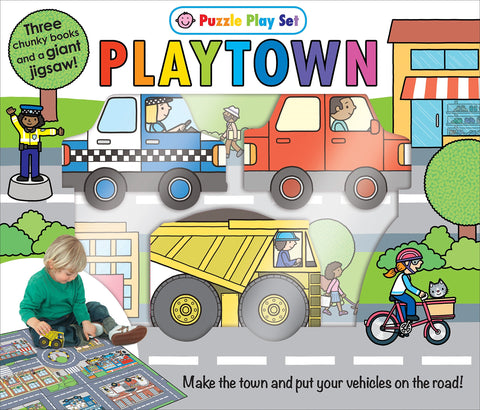 Puzzle Playset - Playtown
