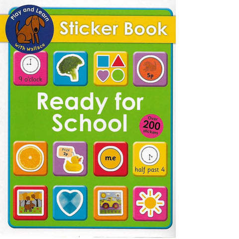 Ready For School Sticker Book