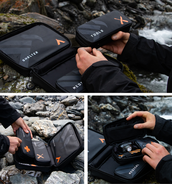 The KEA KIT makes packing easy, ensuring nothing is missed.