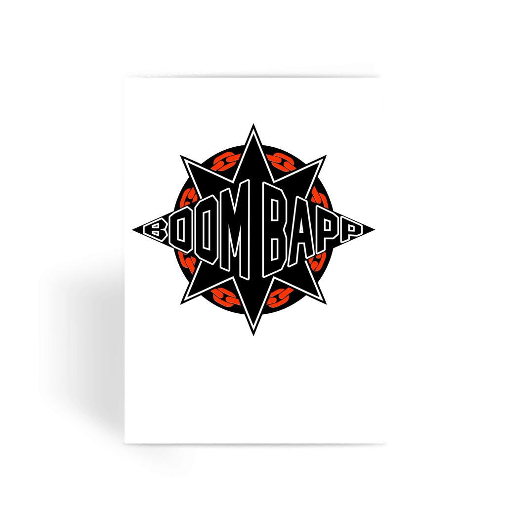 BOOM BAPP Greeting Card