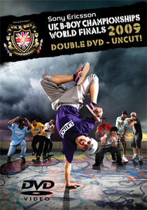 UK B-BOY CHAMPIONSHIPS - 2009 WORLD FINALS DVD