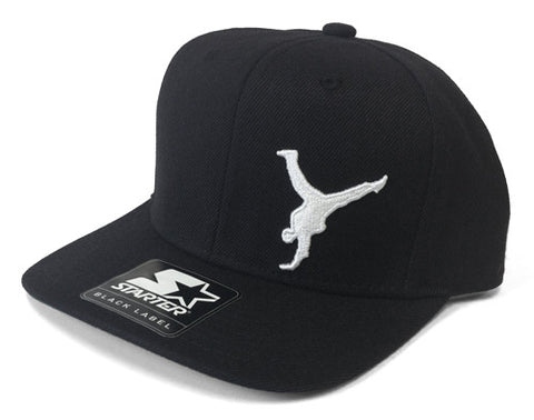 B-BOY CHAMPS CLASSIC SILHOUETTE SNAP BACK CAP