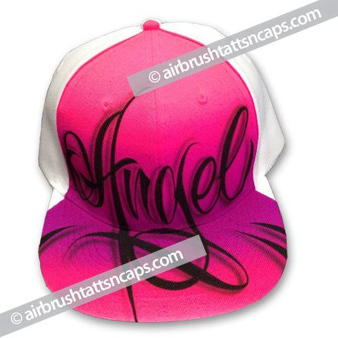 "Airbrush Cap ""Angel"" Flatbrim"