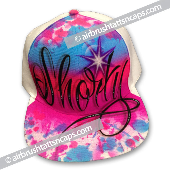 "Airbrush Cap ""Shorty"" Flatbrim"