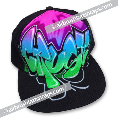 "Airbrush Cap ""Crush"" Flatbrim"