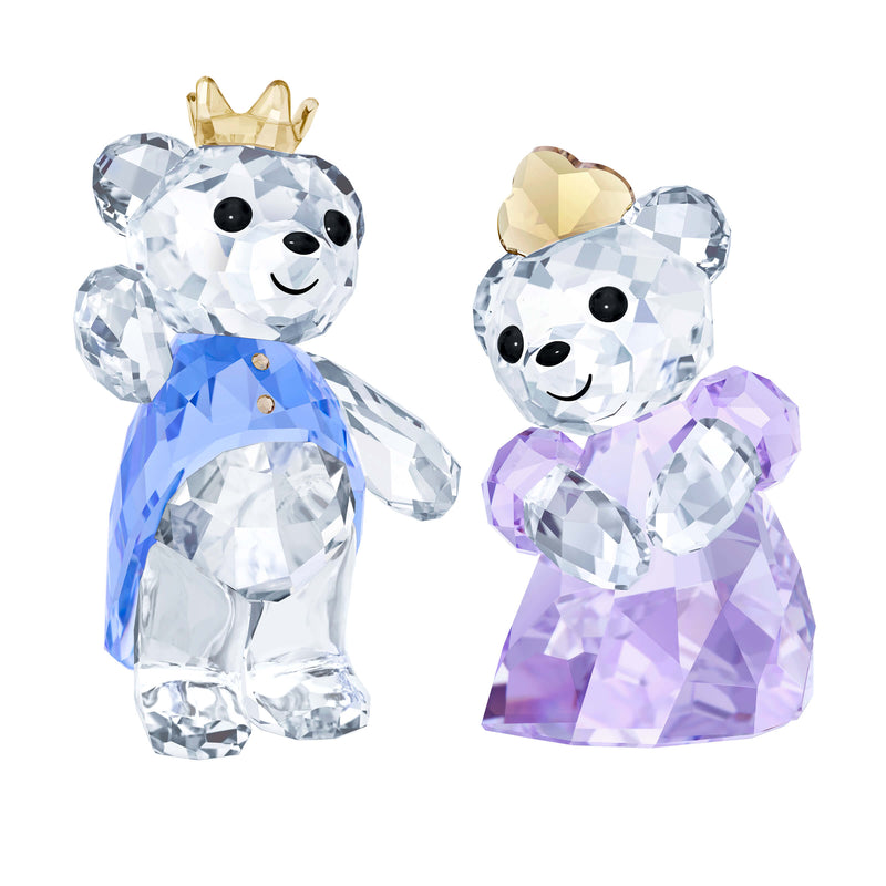 מניאטורה קריסטל KRIS BEAR - PRINCE & PRINCESS