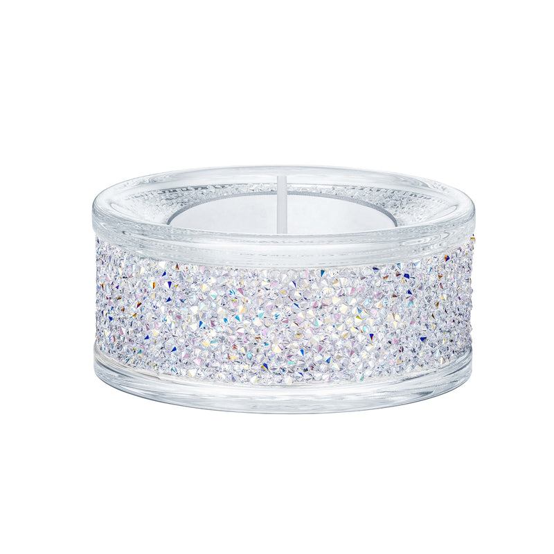 מניאטורה קריסטל SHIMMER TEA LIGHT HOLDER, CRYSTAL AB
