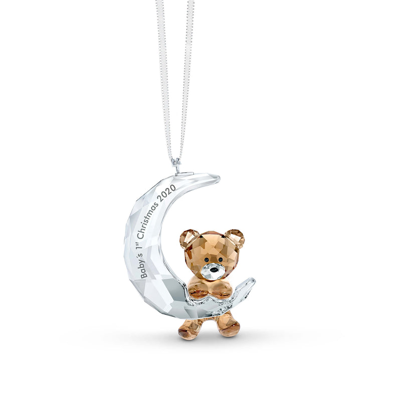 מניאטורה קריסטל BABY'S 1ST CHRISTMAS ORNAMENT 2020