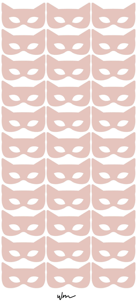 Little Hero Girl Mask decal pack