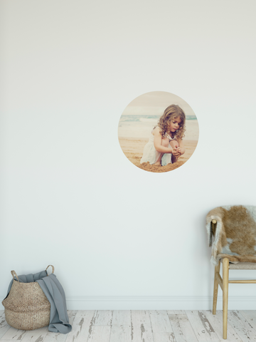 Wall decal Dots - Using your own photos