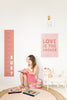 Love is the Answer poster decal - Several Colours