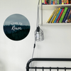 Photo quote decals - Let's be wild & free