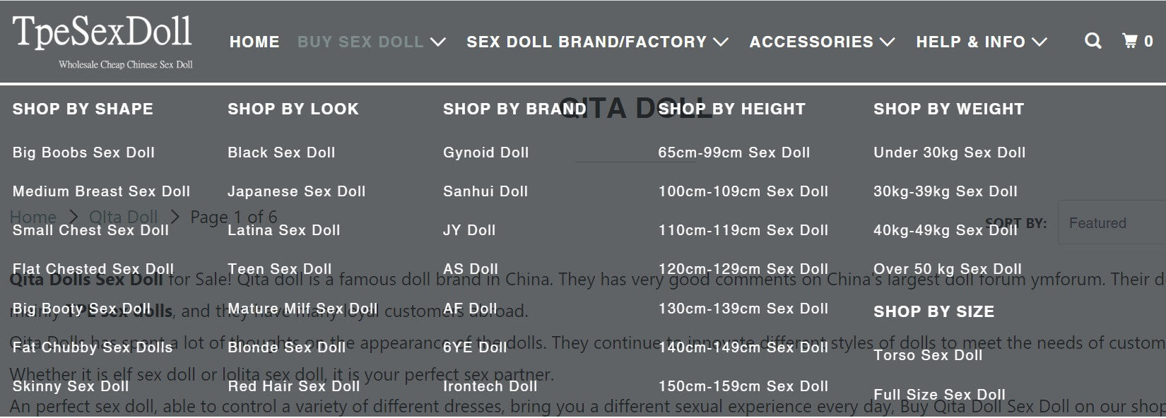 Product category Tpesexdoll blog