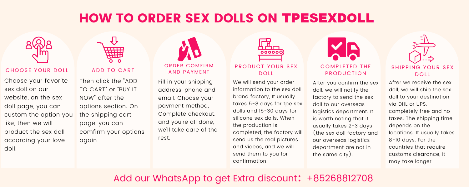 How to orer sex dolls on Tpesexdoll