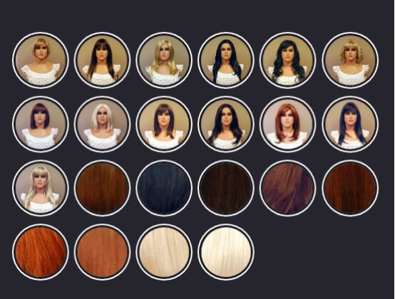 real doll wigs