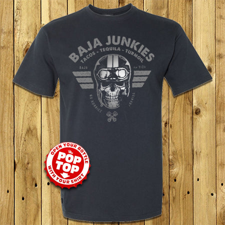 Baja Junkies Pop Top Shirt