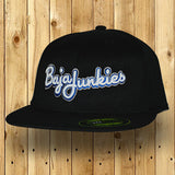 Baja Junkies Text Cap black