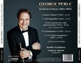 George Perle: Orchestral Music (1965-1987) <br> George Perle, Vol. 4 <br> BRIDGE 9499