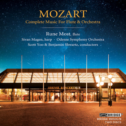 Mozart: Complete Music for Flute and Orchestra <BR> BRIDGE 9502A/B