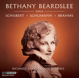 Bethany Beardslee Sings Schubert, Schumann, Brahms<BR> BRIDGE 9504