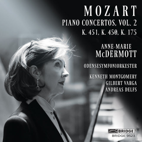 Mozart Piano Concertos, Vol. 2 <br> Anne-Marie McDermott <br> BRIDGE 9523