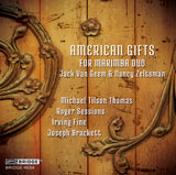 American Gifts for Marimba Duo <br> Jack Van Geem, Nancy Zeltsman <br> BRIDGE 9534