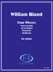 William Bland: Four Pieces for Piano