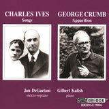 Jan DeGaetani and Gilbert Kalish perform <br> Music of Crumb and Ives <BR> BRIDGE 9006