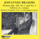 Brahms: Music for Viola and Piano <BR> BRIDGE 9021