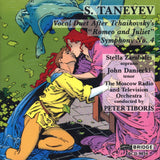 Sergey Taneyev: Romeo and Juliet and Symphony No. 4 <BR> BRIDGE 9034
