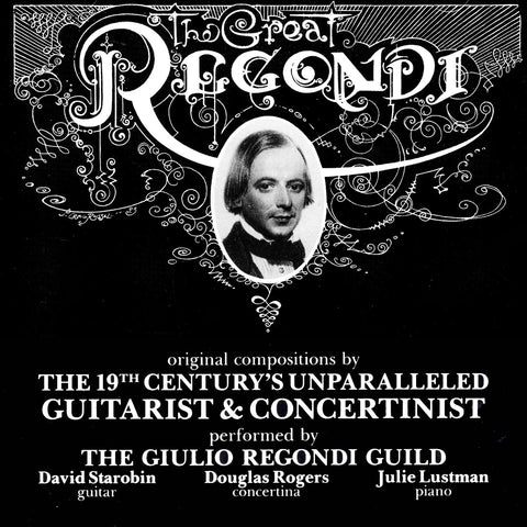 The Great Regondi, Vol. 1 <BR> BRIDGE 9039