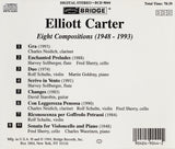 The Music of Elliott Carter, Vol. 2 <BR> BRIDGE 9044