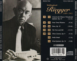 Wallingford Riegger <br> Music for Winds <BR> BRIDGE 9068