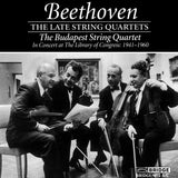 Beethoven Late String Quartets <br> The Budapest String Quartet <br> Great Performances <BR> BRIDGE 9072A/C