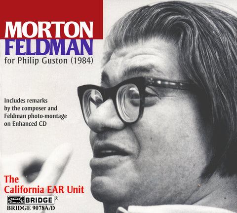 Morton Feldman <br> for Philip Guston <BR> BRIDGE 9078A/D