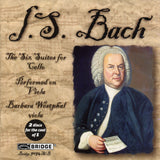 Bach: The Six Suites for Cello <br> Performed on viola <br> Barbara Westphal, viola <BR> BRIDGE 9094A/B