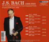 Bach: Sonatas and Partitas <br> Gregory Fulkerson, violin <BR> BRIDGE 9101A/B