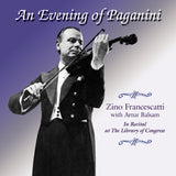 Zino Francescatti <br> An Evening of Paganini <BR> BRIDGE 9125