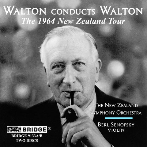 Walton Conducts Walton <br> The 1964 New Zealand Tour <BR> BRIDGE 9133A/B