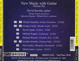 New Music with Guitar, Volume 6 <br> David Starobin, guitar <BR> BRIDGE 9144