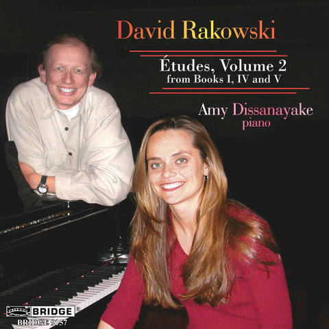 David Rakowski <br> Etudes, Vol. 2 <BR> BRIDGE 9157