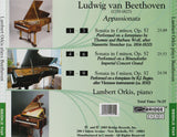 Beethoven's Appassionata <br> Lambert Orkis, piano <BR> BRIDGE 9169