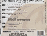 The Music of Mario Davidovsky, Vol. 3 <BR> BRIDGE 9171