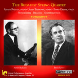 The Budapest String Quartet <br> Great Performances Vol. 21 <BR> BRIDGE 9175