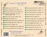 Songs of Amy Beach <BR> BRIDGE 9182